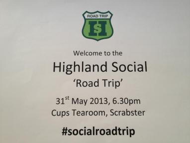 Highland Social Road Trip - touring the Highlands with information and cupcakes