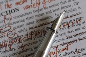 editing proofreading publishing
