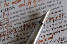 editing proofreading publishing