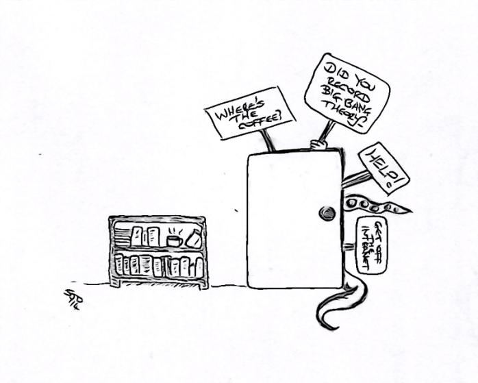 Freelance cupboard monster