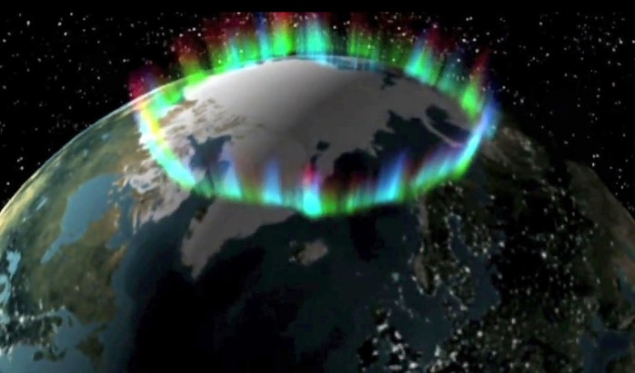 Aurora oval THEMIS mission NASA