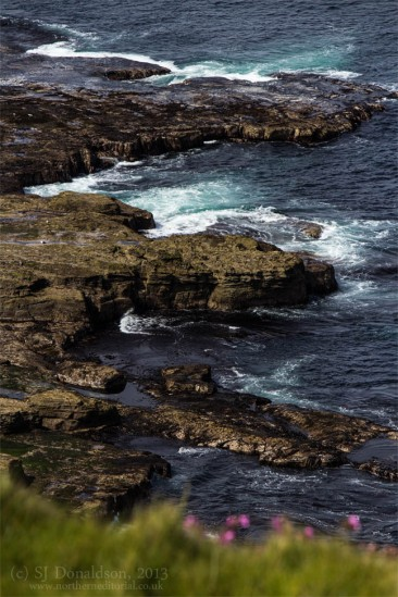 Dunnet Head, Dunnet, Scotland, rocks, sea, seascape, Caithness