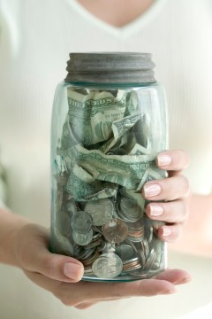 jar of money