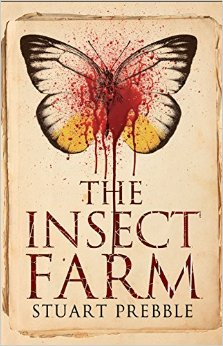 The Insect Farm cover art Stuart Prebble