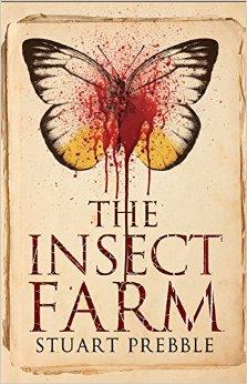 The Insect Farm cover art Stuart Prebble