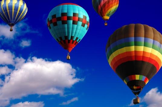 weightless balloons