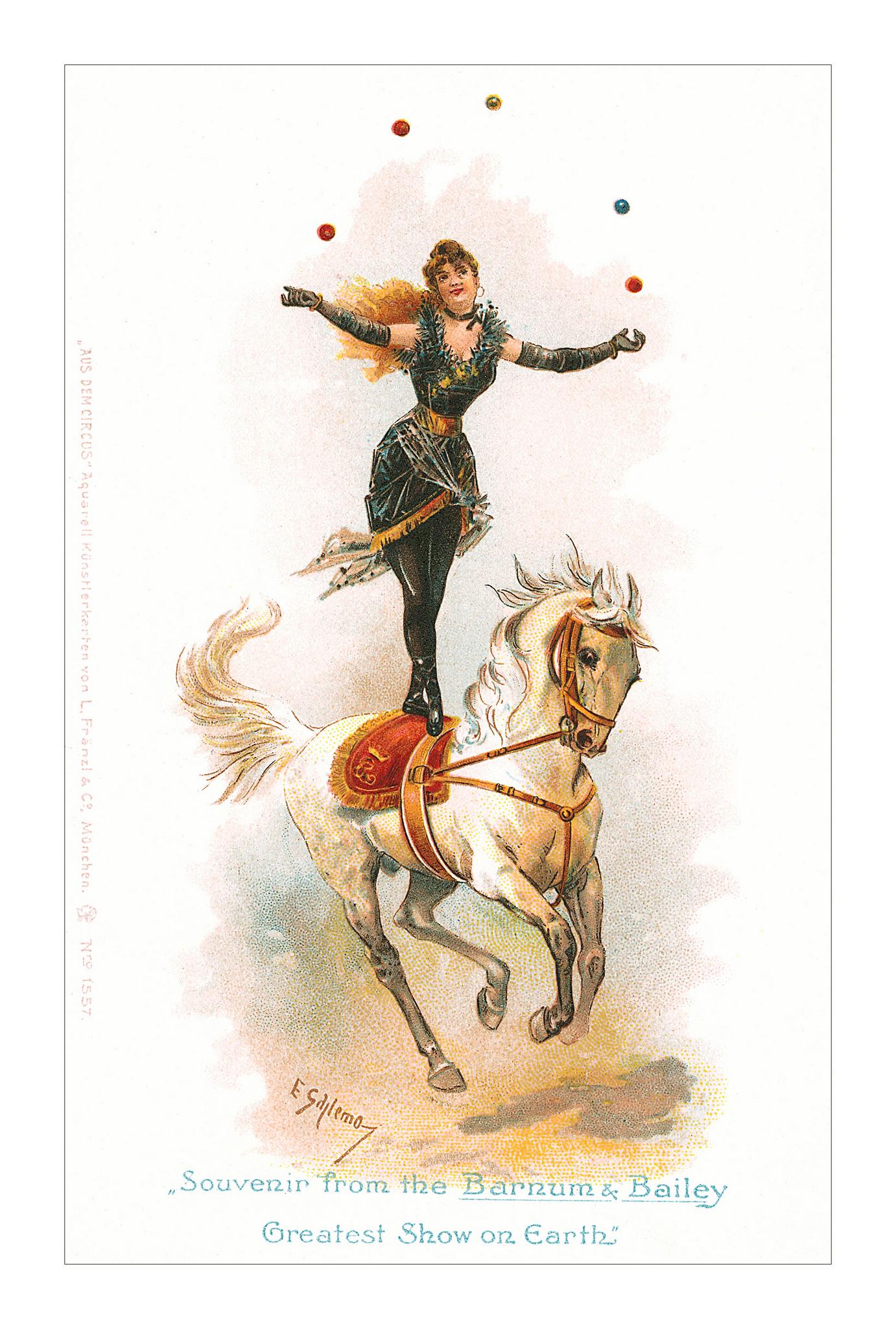 Barnum freelance juggler