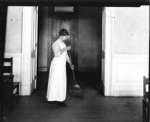 swept under the carpet