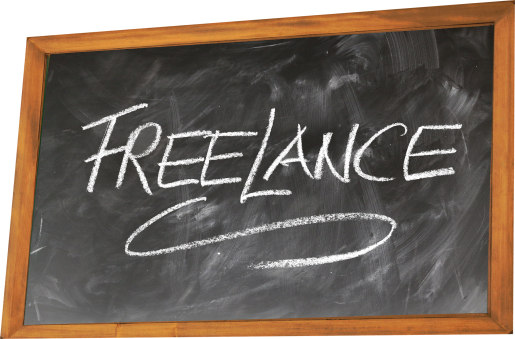 freelance, freelancer, blackboard