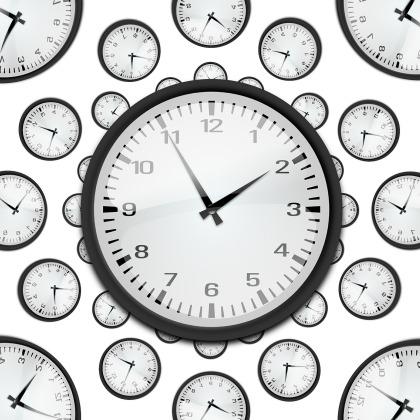 time, clocks, rush job