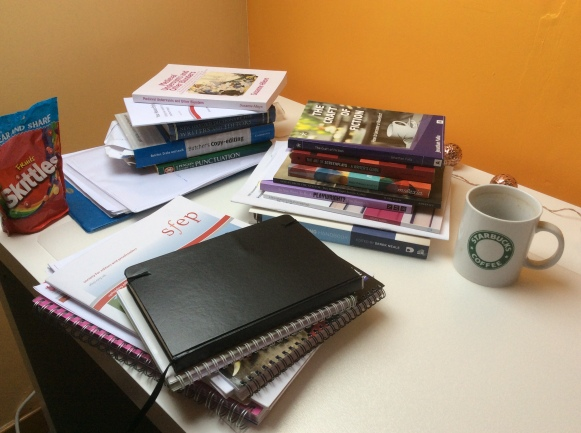 an editor's desk, NorthernEditoral