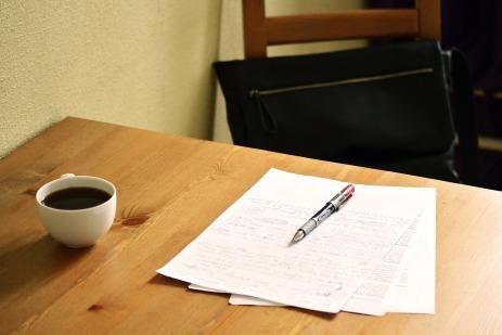 correcting a manuscript