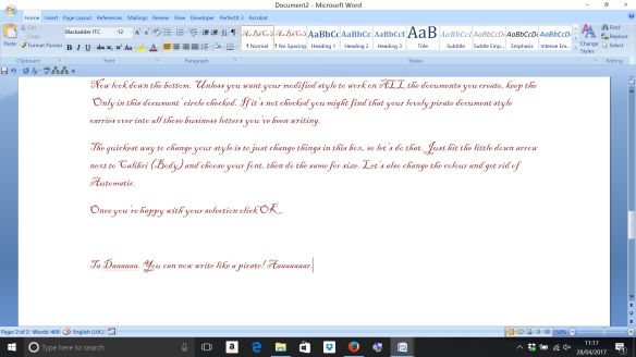 Word Styles screenshot 6