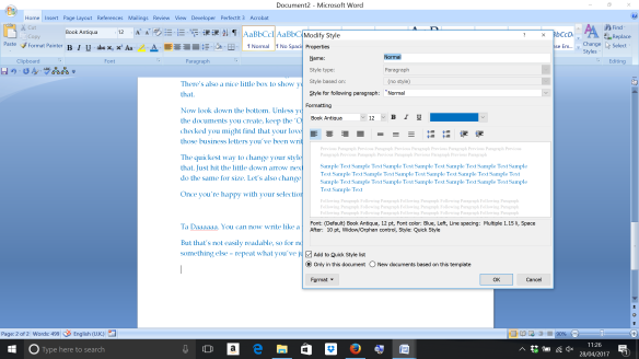 Word Styles screenshot 9