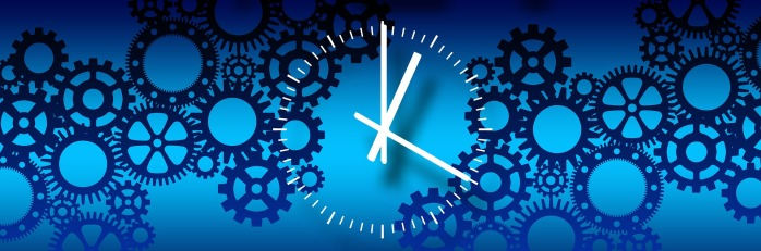 cogs, clock, productivity