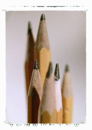 pencils, writing, write