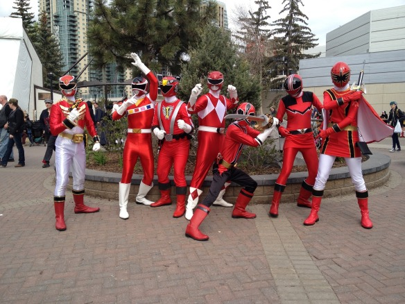 power rangers, super group