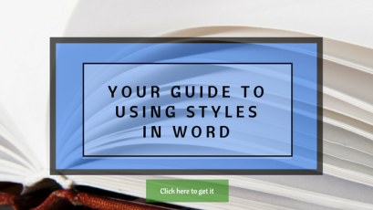 Your guide to using styles in Word
