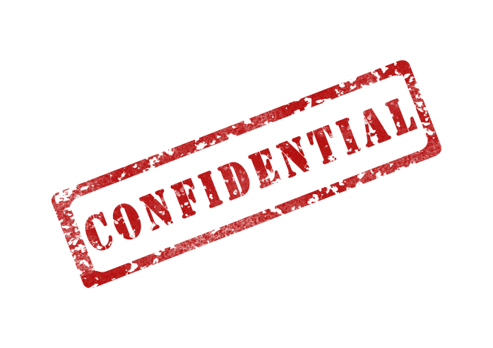 confidential and confidentiality