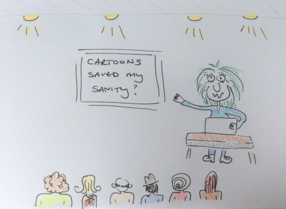 How a cartoon course saved my sanity