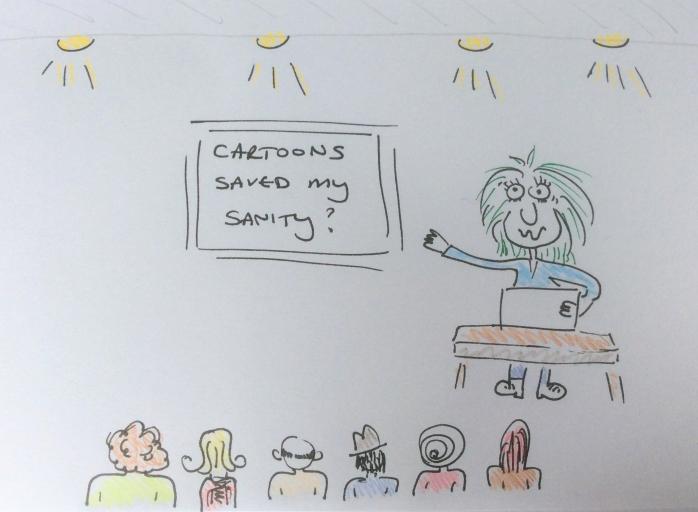 How a cartoon course saved my sanity