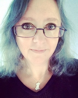 Sara Donaldson in specs