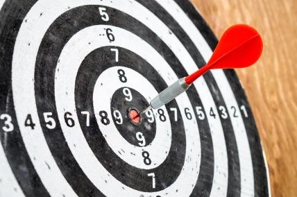 target, dartboard bullseye