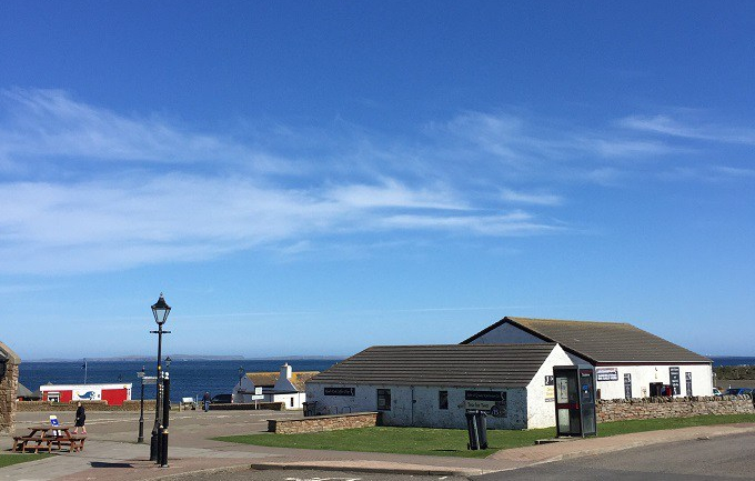 A beautiful day at John O'Groats