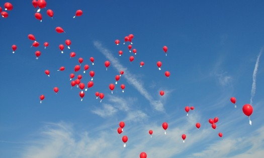 balloon messages, get the message out there
