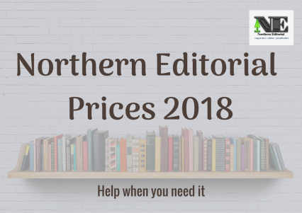 Northern Editorial Prices