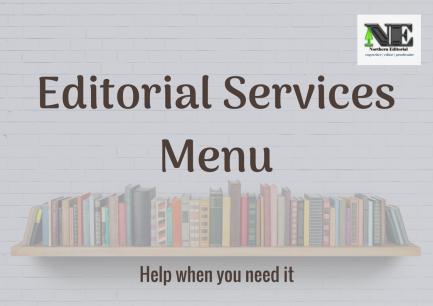 Northern Editorial Services Menu