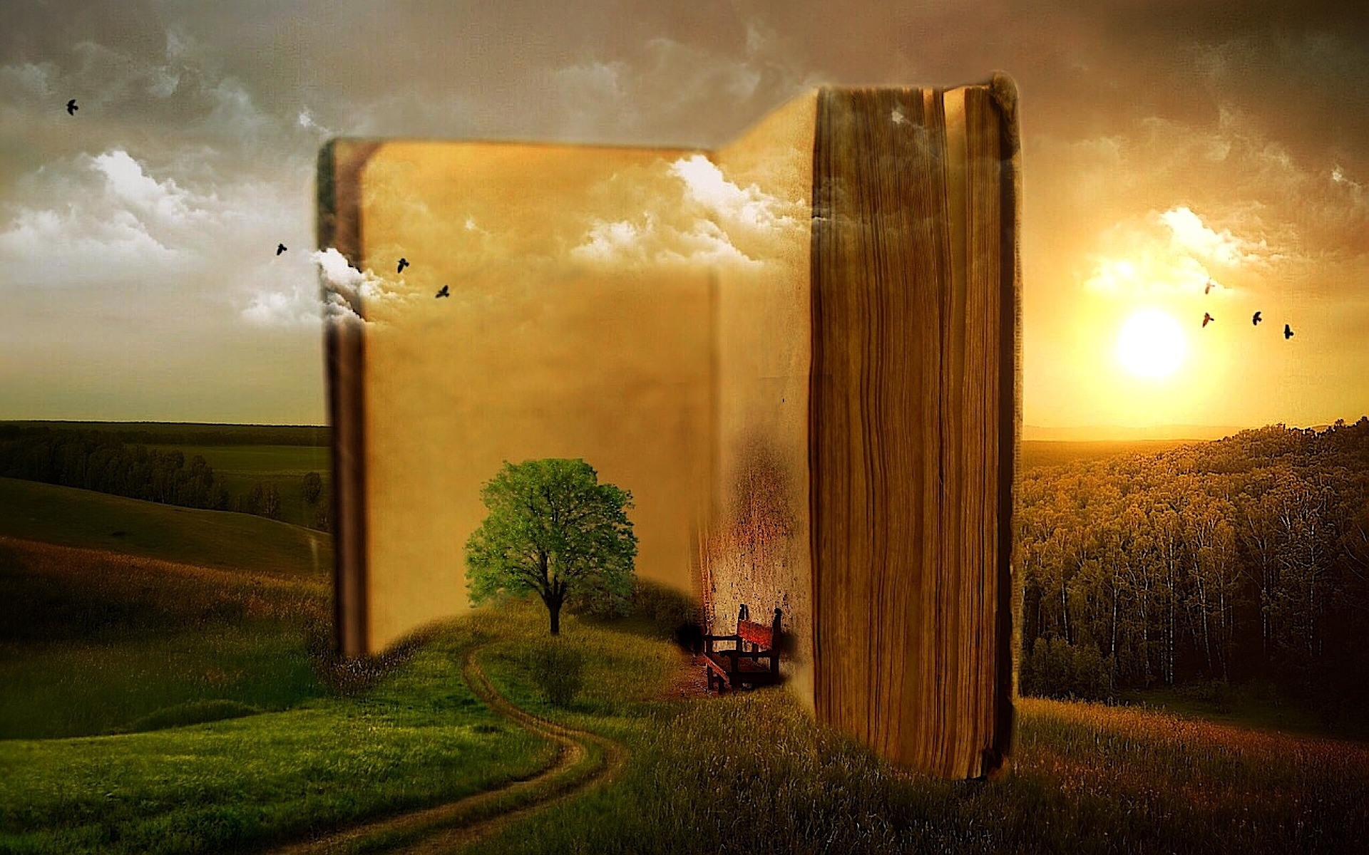 A good story opens doorways to new lives