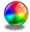 glass ball icon