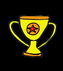 winner's trophy