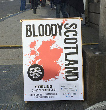 Bloody Scotland sign