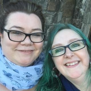 two happy editors