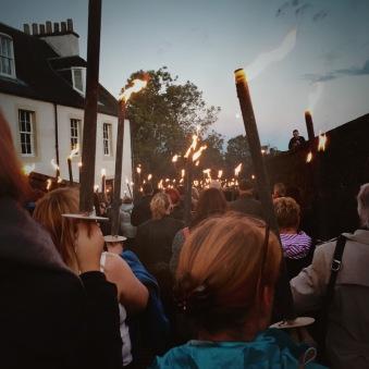 Torchlit parade Stirling