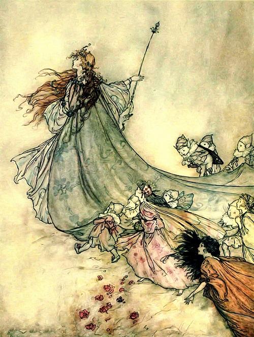 Arthur Rackham fairytale