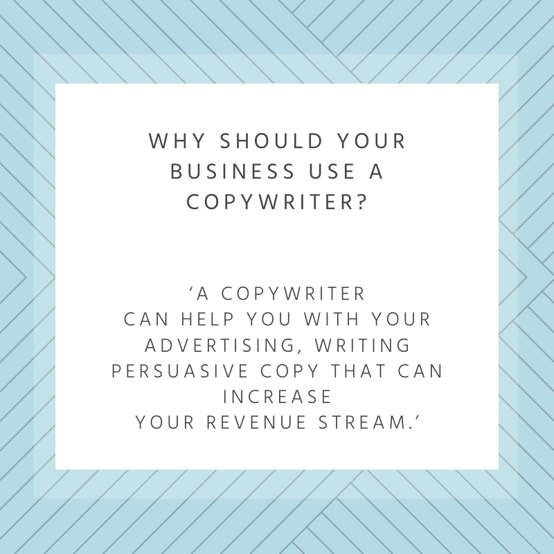 Why should your business use a copywriter?
