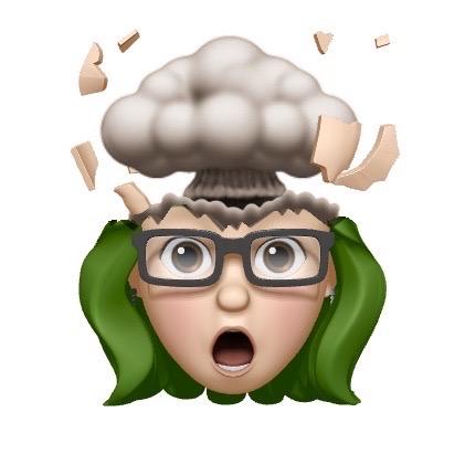 sara donaldson emoji mindblown