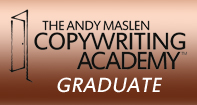 Andy Maslen Copywriting Academy Graduate logo