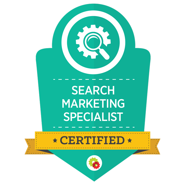 search marketing specialist certified logo